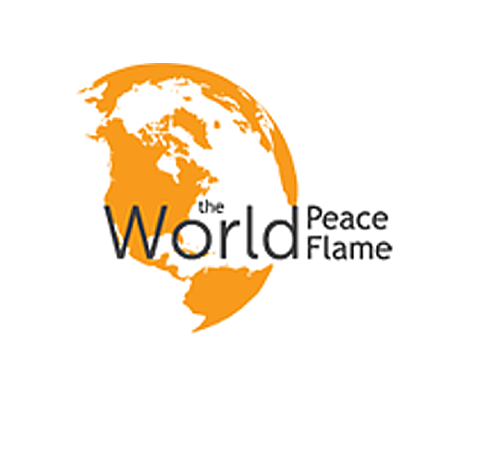 the world peace flame